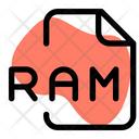 Ram File Audio File Audio Format Icon