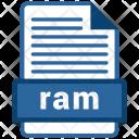 Ram File Formats Icon