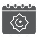 Ramadan Calendar Islam Icon