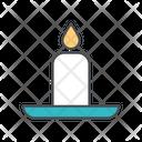 Ramadan candle Icon