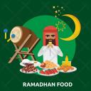 Ramadan Ramadhan Food Icon