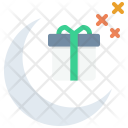 Gift Celebration Moon Icon
