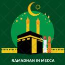 Ramadhan Mecca Kaba Icon