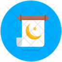 Ramadan Message Message Scroll Letter Icon