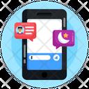Ramadan Chat Ramadan Message Conversation Icon