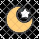 Ramadan moon Icon