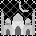 Ramadan Crescent Fasting Icon
