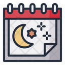 Ramadhan Date Schedule Icon