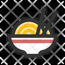 Ramen Noodle Bowl Icon