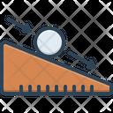 Ramp Slope Trailer Icon