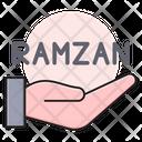 Ramzan Hand Prayer Icon
