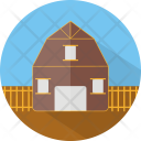 Ranch Building Fram Icon