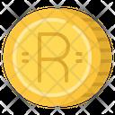 Rand Cash Coin Icon