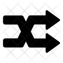 Random Shuffle Arrow Icon