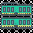 Random Access Memory Ram Chip Icon