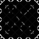 Random Molecules Icon