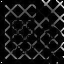 Random Sampling Subset Icon