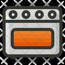 Range Burner Stove Icon