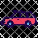 Range Rover Car Transport Icon