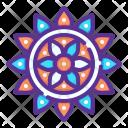 Rangoli Hindu Holi Icon