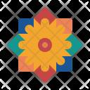 Celebrate Festival Rangoli Icon