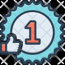 Rank Grade Success Icon