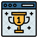 Ranking Rank Trophy Icon