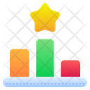 Ranking Rank Podium Icon