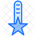 Ranking Star Rating Icon