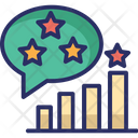 Ranking Rating Growth Icon