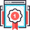 Ranking Reputation Badge Icon