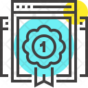 Ranking Reputation Badge Icon