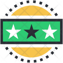 Ranking Star Ornament Icon