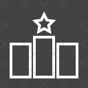 Rankings Bar Graph Icon
