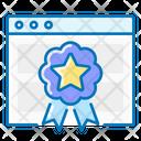 Rankings Website Badge Icon