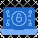 Ransomware Encryption Lock Icon