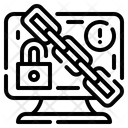 Ransomware Malware Monitor Lock Icon