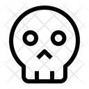 Ransomware Skull Virus Icon