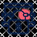 Ransomware attack Icon