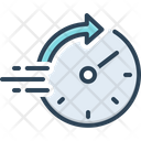Rapid Speed Tempo Icon