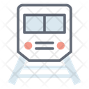 Rapid Transit Subway Train Icon