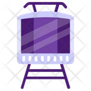 Electric Train Tram Train Icon