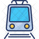 Heavy Rail Rapid Transit Subway Train Icon