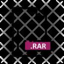 Rar Document Extension Icon