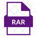 Rar Rar File Compress Icon