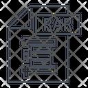 Rar Rar Format Icon