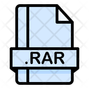 Rar File File Extension Icon