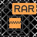 Rar Type File Icon