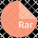 Rar File Format Icon