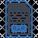 Rar File Document Icon